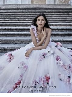 Bianca Balti Stuns in Wedding Gowns for Alessandro Angelozzi Couture 2015 Bridal Shoot Bianca Balti, Bridal Shoot, Bridal Gowns, Wedding Gowns, Couture 2015, Couture Fashion, Couture Bridal, Gorgeous Wedding Dress, Beautiful Gowns
