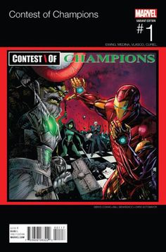Contest Of Champions Vol 3 #1 Cover D Variant Denys Cowan Marvel Hip-Hop Cover