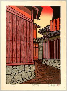 Nishijima Katsuyuki, Sunset Lane at Kiyomizu
