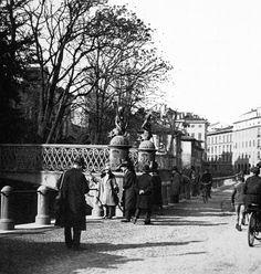 Il Ponte delle Sirenette (ora al Parco Sempione)