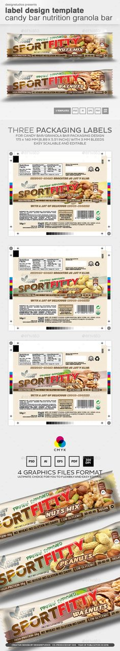 Spices Packaging Label Template, Print templates and Ai illustrator - package label template