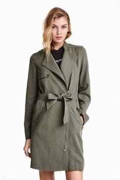 Trench-coat en lyocell | H&M