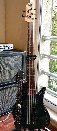 Being a Fodera artist, I use a Fodera Emperor Standard Classic V as my main bass