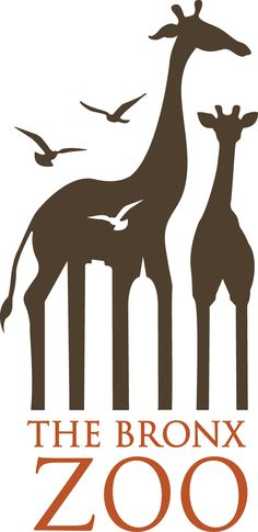 Brand Logos With Subliminal Messages - Bronx Zoo - Most people only see the animals when they look at this logo, but take a closer look and you'll see the Bronx skyline in the negative space! Bronx Zoo, Creative Logo, Clever Logo, Logo Intelligent, Branding, Zoo Logo, Logo Simple, Typographie Inspiration, Hidden Images