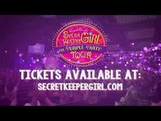 Secret Keeper Girl Purple Party Tour