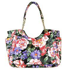 Floral Handbag.