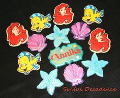 Little Mermaid Cookies for a Little Warrior | Cookie Connection
