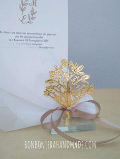 Μπομπονιέρα Γάμου Δέντρο Ζωής Ευχές - Bonboniera Handmade Place Cards, Place Card Holders