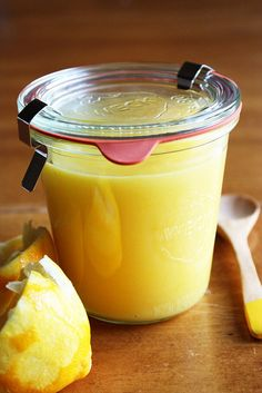 Basic Lemon Curd..awesome stuff!!