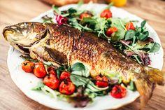 Fried fish Жареная рыба