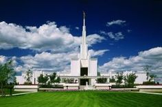 Denver Colorado LDS temple. This is where I first met Nathan