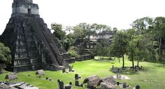 Visiting Tikal in Guatemala from Belize December 8th, 2016
