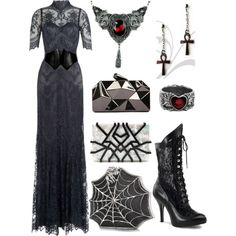 - - Gothic Outfit Idea 2017