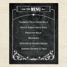 Rustic Wine & Cheese Party Sign | Hostess Ink