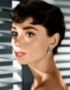 Audrey Hepburn Not only of first class physical beauty but also of beauty on the inside.