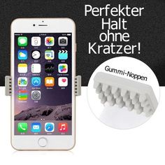 360-Universal-Auto-KFZ-Handy-Halter-Halterung-Handyhalterung-iPhone-Schwarz