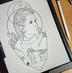 Leia piece for @insta_bram_94 really excited for this one #hoth #battleofhoth #princessleia #hope #carriefisher #rip #rebelalliance #anewhope #starwarsart #starwarstattoo #ipadproteam #ipadpro #upforgrabs #floridaartist #floridatattooartist #studioxiii #studioxiiicocoavillage