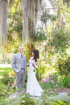 Purple + White Magnolia Plantation Charleston SC Wedding // Dana Cubbage Weddings // Charleston SC Wedding Photographer