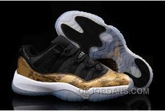 "http://www.okjordans.com/shop-air-jordan-11-xi-low-golden-snake-custom-black-gold-kys8g.html SHOP AIR JORDAN 11 (XI) LOW ""GOLDEN SNAKE"" CUSTOM BLACK GOLD KYS8G Only $91.00 , Free Shipping!"