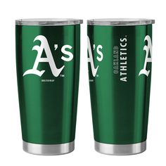 Oakland Athletics Travel Tumbler 20 oz Ultra Flared Green