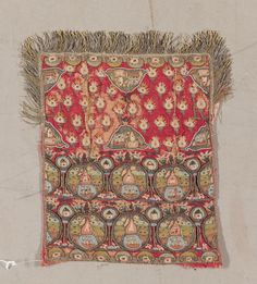 Galleons', A Group of Ottoman Towels and Embroideries including napkins (yağlik), sashes (uçkur), headscarves (Çevre), worked in polychrome silks and metal-threads, using a variety of stitches, predominantly worked with galleons (5) various measurements 18th and 19th century