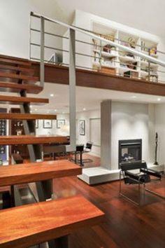 modern loft decorating