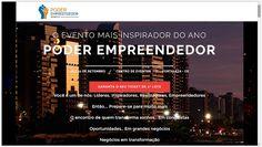 Evento Poder Empreendedor Nordeste 2016 - 10 e 11 de Setembro (Fortaleza /CE) - O evento mais inspirador do ano, voltado para líderes empresariais, sociais e políticos, gestores e novos empreendedores.