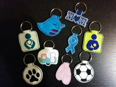 Key Fob Tutorial - In the Hoop Machine Embroidery
