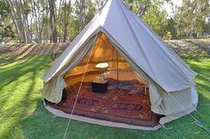 The new bell tent - Deniliquin 2013