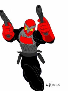 jason todd*red hood/night hawk(supreme power)