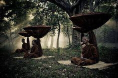 Vipassana meditation is an ongoing creative purification process. Observation of the moment-to-moment experience cleanses the mental layers, one after another.