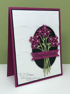 Beautiful Bouquet, Stampin' Up!, BJ Peters, Stampin' BJ