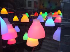 IKEA Melody lamp with coloured light bulps