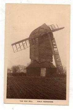 Windmill Postcard - Sible Hedingham, Essex | eBay