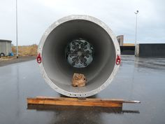 Biogasfackel beim Bau der UDI Biogasanlage Thierbach