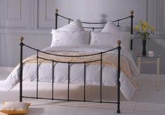 Chambres à coucher: Têtes de lit ou lits: modèle AMARANTO (noir)