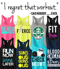 PICK ANY 3 #WORKOUT #TANKS and get 15% OFF #Bundle! Great for the #Gym! By NoBullWomanApparel, only $63.95! Click here to buy http://nobullwoman-apparel.com/collections/sale-special-deals/products/3-workout-fitness-tank-tops-15-off-bundle-workout