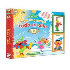 Aprende sobre las estaciones del año con Elmo y sus amigos! Incluye un Cd.