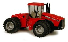 1:64 Case IH Steiger 385 Tractor by ERTL. $10.99. From the Manufacturer                Ertl, the worldwide leader in farm toys for over sixty years, is proud to offer this highly detailed replica. Featuring die cast parts, realistic details, and authentic decoration, this accurately scaled replica is sure to be a hit with collectors and fans of all ages.                                    Product Description                Ertl 1:64 scale diecast CASE IH Steiger ...