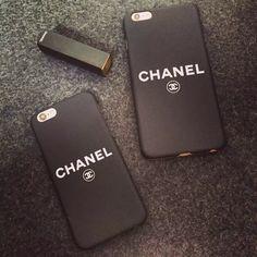 Coque CHANEL unique noir très populaire bonne qualité pour iPhone 5 6 6plus 6s 6splus acheter sur le site www.lelinker.fr