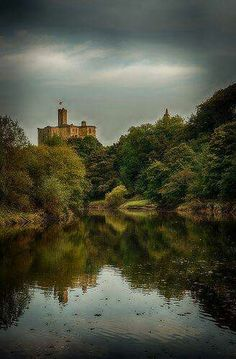 Warkworth Castle.  Northumberland