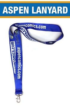 Aspen Comics Lanyard - perfect for any comic con or for your house keys!!