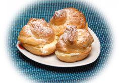 Ptysie z kremem budyniowo-śmietankowym - DoradcaSmaku - ten przepis cieszy się popularnością, sprawdź. Nom Nom, Pancakes, French Toast, Breakfast, Food, Candy, Morning Coffee, Essen, Pancake