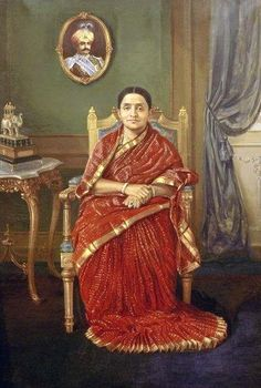 Vintage Saree: Red and Gold for Royalty   saree image