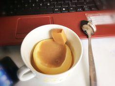 dessert in tazza con caramella mou