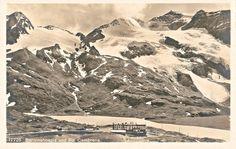 Piz Cambrena Alps Switzerland Grisons Graubünden Ospizio Bernina Berninahospiz