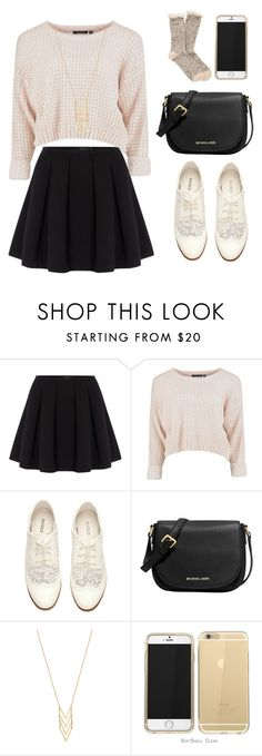 """Basically Basic"" by liveloveshopfashion ❤ liked on Polyvore featuring Polo Ralph Lauren, H&M, MICHAEL Michael Kors, Gorjana and maurices"