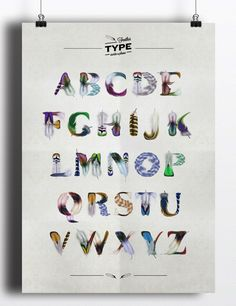 FeatherType (Free Font) by Manuel Persa, via Behance