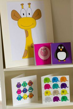 Titch Design original prints, greeting cards and notepads