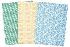 Jack Bennett Gift Wrap, 15 sheets on OneKingsLane.com